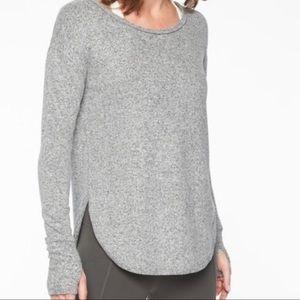 Athleta Lombard Long Sleeve Sweater Top